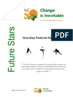 jisac one-day fesitival handbook update
