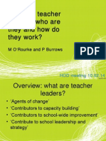 Effective Teacher Leaders