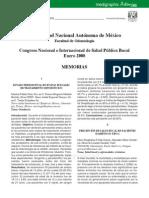 Congreso Nacional e Internacional de Salud Pública Bucal
