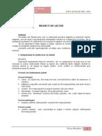 Proiect lectie Pulsul