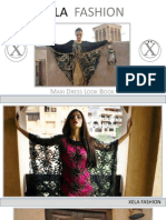 The Xela Fashion Maxi Dress Lookbook