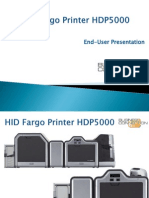 HID Fargo Printer HDP5000