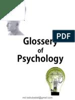 Glossary of Psychology
