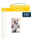 Self Management Skills for Everyone