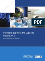 2013 Medical Equipment Supplies Final