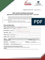 Ccip Application Form