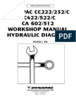 Dynapac CC222 232 422 522 602 512 Whopshop Manual Hydraulic Diagram