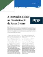 Intersecionalidade da discriminação entre raça e gênero Kimberlé Cranshaw