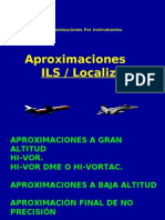 Aproximación ILS-LOC