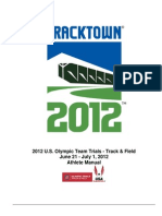 Athlete Manual 2012 Olympic Trials
