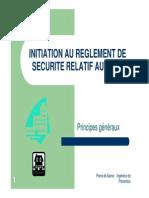 Formation Au Reglement de Securite Relatif Aux Erp