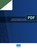 Libro de Reservas CNH 2012