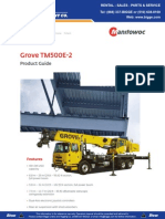 Grove TM500E 2 Product Guide