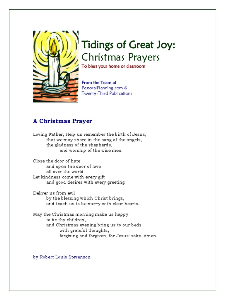 Christmas Prayers | Jesus | Christmas