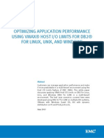 Docu48440 White Paper Optimizing Application Performance Using VMAX Host I O Limits for DB2 for Linux, Unix, And Windows