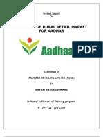 godrej Aadhar Report