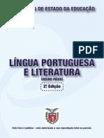 LINGUA PORTUGUESA E LITERATURA - LIVRO DIDÁTICO PÚBLICO