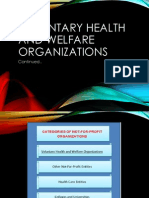Voluntary Health and Welfare Organizations p3