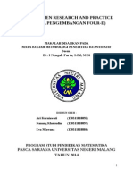 Makalah Development Research 4 D.doc