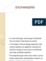 Heat Exchangers in brief