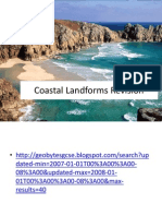 Coastal Landforms Revision