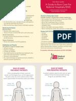 EMS Burn Reference Card