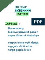 pencegahan infeksi