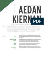 Aedan's CV New Employee 2014