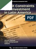 Credit constraints in Latin America