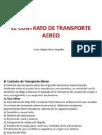 El Contrato de Transporte Aereo