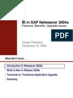 SAP BI NW 2004s Review