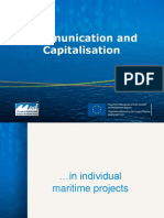 Com and Cap in Maritime Projects and in Dedicated Com-cap Project