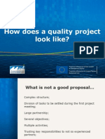 How Does a Quality Project Look Like - Maritime Call