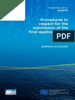 Submission Procedure Maritime En