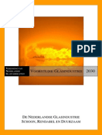 Voorstudie Glasindustrie - Rapport - 13 Januari 2011