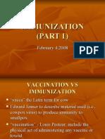 Vaccines PART 1
