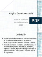 Angina Crónica estable1