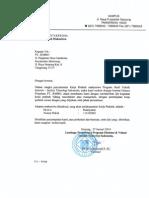 Surat Pengantar Kerja Praktek
