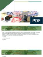 Project Management - Money
