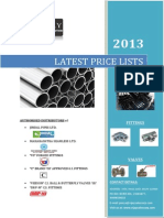 DUCTILE IRON PIPES -LATEST PRICE LISTS ALL ITEMS