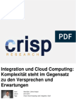 Integration und Cloud Computing