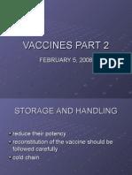 Vaccines Part 2