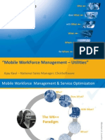 """Mobile WorkForceManagement –Utilities"