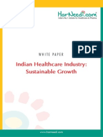 White Paper - Indian Healthcare Industry Sustainable Growth2(Apr2012)