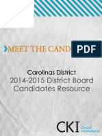 Meet the Candidates 2014