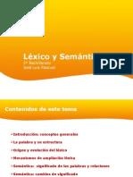 Lexico y semántica