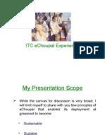 ITC eChoupal Experience