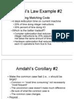 Amdhals Law