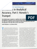 Limitations in Analytical Accuracy