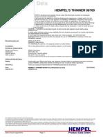 Pds Hempel's Thinner 08700 en-gb